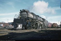 RailPictures.Net Photo: 4003 Union Pacific Steam 4-8-8-4 at Unknown, Wyoming by Dariusz Lachowicz