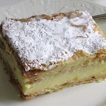 This easy pastry cream recipe can be used to fill napoleons, eclairs, cream puffs and other pastries.