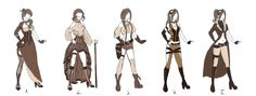 Steampunk cosplay: Which one? by ~Wolfsoul125 on deviantART