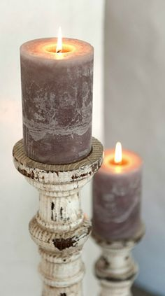 Cottage Décor ● Candles