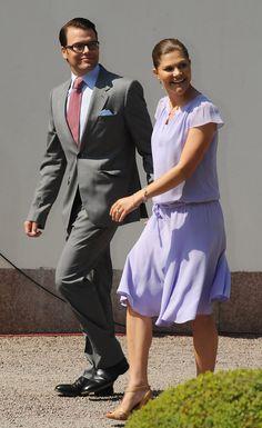 Princess Victoria - Swedish Royal Family Celebrates Crown Princess Victoria's 32nd Birthday
