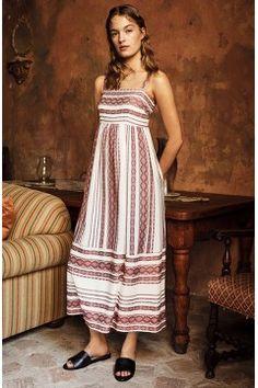 Alternate Image 7  - Maggy London Stripe Sundress