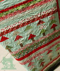 Fresh Poppy Design Quilt Patterns: Blogger's Quilt Festival: Christmas Forest