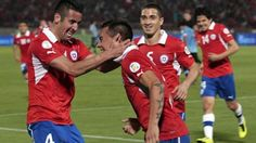 World Cup qualification results: South America. Chile 2-0 Uruguay and other matches