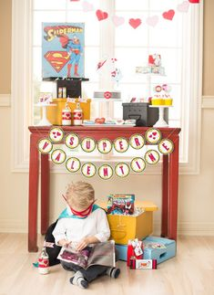 Anders Ruff Custom Designs, LLC: Super Hero Valentine's Day Ideas!