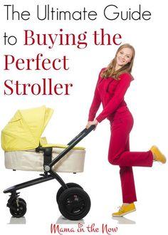 Overwhelmed by the selection of strollers? Wondering about which style, size and accessories you need? This guide will help you find the perfect stroller! * Be sure to check out this helpful article. #PregnancyTipsforNewMoms