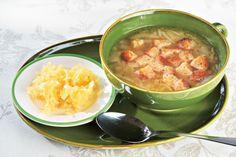 Cibulová polévka stvarůžky Cheeseburger Chowder, Soup, Soups