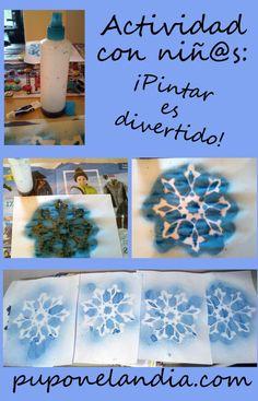 Pintar con niñ@s: algo diferente y divertido - puponelandia.com
