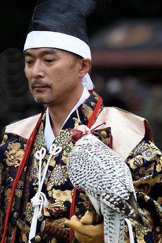 Japanese falconer. Photography byBogdan Ionescu on Flickr