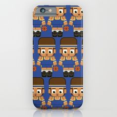 Basketball+Blue+and+Yellow+iPhone+&+iPod+Case+by+BoxEdsPaperCrafts+-+$35.00