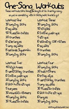 Musical workout