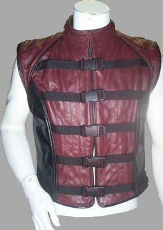 John Crichton Farscape Faux Leather Vest