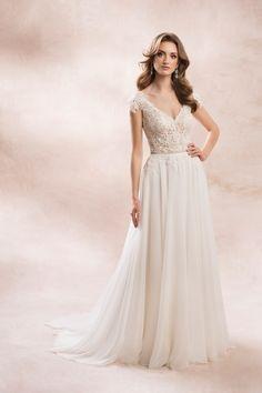 KA-19009T - Agnes Bridal Dream 2020 - Wedding dresses - Agnes - lace wedding dresses, Plus Size Bridal Gowns Fashion Group, All Fashion, Fashion 2020, Most Beautiful Wedding Dresses, Dream Wedding Dresses, Lace Wedding, Bridal Salon, Bridal Collection, Bridal Gowns