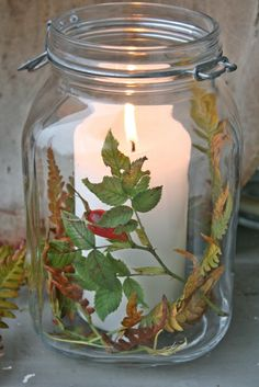 """Perfect for my """"growing"""" Mason Jar collection! From...VIBEKE DESIGN...  http://vibekedesign.blogspot.com/#"""