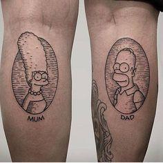 #SimpsonsTattoo                                                                                                                                                                                 Más