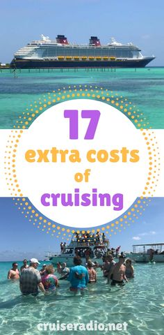 Your cruise fare includes your room, food, entertainment, and travel to the ports of call, but there are many extra costs of cruising that can surprise you.