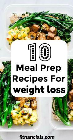 10 Meal Prep Recipes For Weight Loss. 10 Meal Prep Recipes For Weight Loss mealpreprecipes Here's a great list of 10 meal prep recipes for weight loss that are both healthy and delicious. Weight Loss Meals, Healthy Weight Loss, Weight Gain, Recipes For Weight Loss, Losing Weight, Body Weight, Fat Burning Foods, No Carb Diets, Diet And Nutrition