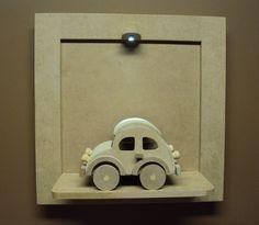 Quadro com led para porta de maternidade com carrinho Luartes Decoração.Nicho bebe,quadro nicho, nicho