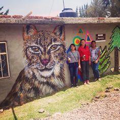 Hoy en la comunidad de los Amoles Moroleón y las muchachas que se animaron a pintar. #graffiti #streetart #urban #street #moroleon #guanajuato #kide #wall #sprayart #spraypaint