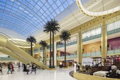 Designed by Chapman Taylor, the Mall of Qatar is the largest shopping centre in Qatar & one of the largest retail developments to launch in the world in 2016 Shopping Center, Shopping Mall, Experience Center, Construction Design, Conceptual Design, Signage Design, Doha, Architect Design