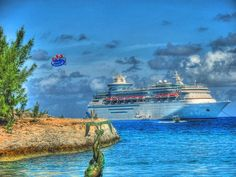 """CocoCay, Bahamas...shared from a fellow cruise goer...talk about a perfect picture...this island was out of this world amazing...so many things to do but yet you could find places away from all the people and relax in the quiet peacfulness & dream like you were on your """"own"""" personal island....Thank you RCCL!"""