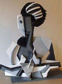 untitled, 09 alex deluca:foam board sculpture inspiration