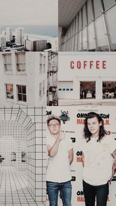 Niall + Harry   ctto: @stylinsonphones
