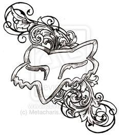 Fox Racing Logo Tattoo by Metacharis on deviantART
