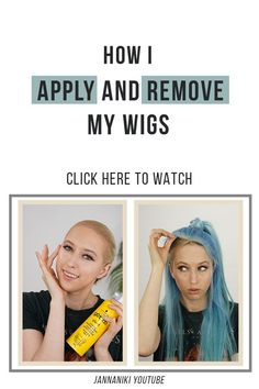 In today's video I am going to show you how I apply and remove my wigs using the Glued freeze spray. Human Hair Lace Wigs, Remy Human Hair, Natural Hair Wigs, Natural Hair Styles, Hair Hacks, Hair Tips, Hair Ideas, Hair Extension Shop, Change Hair Color