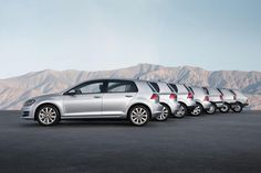 vw photography | All VW Golf generations - Photo #30