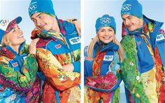 Volunteers' uniform for Sochi Olympics@9