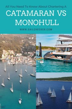 Catamaran Vs Monohull Yacht Charter - what do you prefer? Find all the advantages and disadvantages of both types. Our best guide to which yacht charter suits you better.