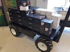 At PUG Technologies Inc., we thrive on building stylish, durable and reliable electric all-terrain wagons, pallet trucks and utility carts are uniquely designed to maximize efficiency and reduce safety hazards in the workplace. Electric Utility, Donkey, Tool Box, Nascar, Pugs, Monster Trucks, Industrial, Platform, Technology