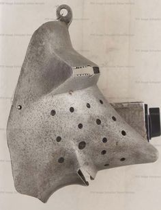 Houndskull Visor, Museo Nazionale del Bargello, Florence 1380-1400 German ref_arm_1512_002