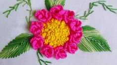 Hand Embroidery: Caston Roses