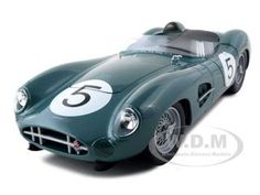 1959 Aston Martin Dbr1 5 Diecast Car Model 1/18 Die Cast Car By Shelby Collectibles