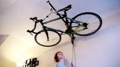 Ranger son vélo au plafond c'est maintenant possible ! - Vélo ville & vélo urbain sur Le Vélo Urbain.com