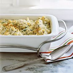 Holiday Sides | Gratin of Cauliflower with Gruyère | CookingLight.com