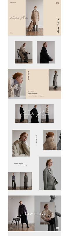 Colour blocking, vertical text, and how the text overlaps photos Newsletter Design, Website Design Inspiration, Graphic Design Inspiration, Banner Design, Layout Design, Vertical Text, Fashion Web Design, Lookbook Design, Simple Web Design
