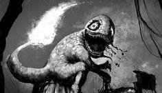 Artista reimagina Pokémons como monstros assustadores - EExpoNews