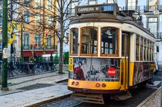 Lisbon, Portugal: The Best of the City in 2 Days - the unending journey Lisbon Tram, Lisbon Portugal, Day Trips From Lisbon, Journey, Good Things, City, Cable, War, Train