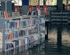 Image result for library disaster