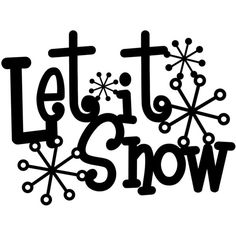 Let It Snow Metal Sign With Snowflakes Black 13.5x10 Winter Decor... ($24) ❤ liked on Polyvore featuring home, home decor, words, winter, text, quotes, backgrounds, home décor, phrase and home & living