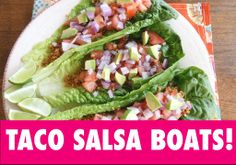 WALNUT TACO SALSA BOATS! http://youtu.be/BnoX4AQs6lw