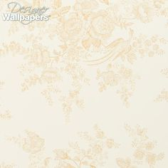 Vintage Dauphine is a luxurious and ornate romantic wallpaper which is slightly faded to add a vintage effect. Understated and subtle, the delicate toile pattern features tropical birds nestling amongst floral branches. With a decadent and distinguished feel to it, this paper comes in six colourways.