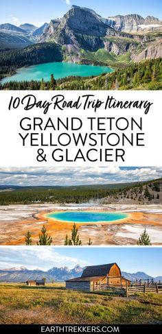 Waterton Lakes National Park, Grand Teton National Park, Road Trip National Parks, Glacier National Park Montana, Badlands National Park, National Parks In California, Glacier National Park Camping, Canada National Parks, Nationalparks Usa