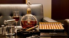 Top 10 Most Expensive Liquors, whisky is drawn from two exceptional casks which are matured for 50 years. Only 50 bottles of this single malt Scotch whisky are. Cigar Club, Cigar Bar, Good Cigars, Cigars And Whiskey, Most Expensive Alcohol, Bourbon, Library Bar, Cigar Accessories, Cigar Room