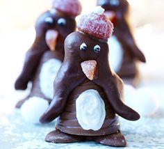 Perky penguins #christmas #food #recipe Visit us: http://explodingtastebuds.com