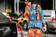 The NYFW Street-Style Looks That Truly Stunned #refinery29  http://www.refinery29.com/2014/09/73987/new-york-fashion-week-2014-street-style-photos#slide32  Matisse-like prints.
