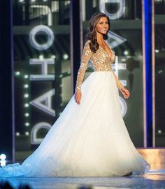 Miss Oklahoma 2015 Evening Gown: HIT or MISS | http://thepageantplanet.com/miss-oklahoma-2015-evening-gown-hit-or-miss/